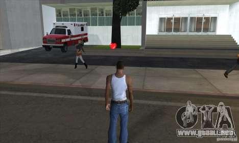 Kit de primeros auxilios 1.0 para GTA San Andreas tercera pantalla