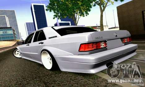 Mercedes-Benz 190E Drift para GTA San Andreas left