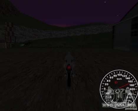 Velocímetro 2.0 final para GTA San Andreas tercera pantalla