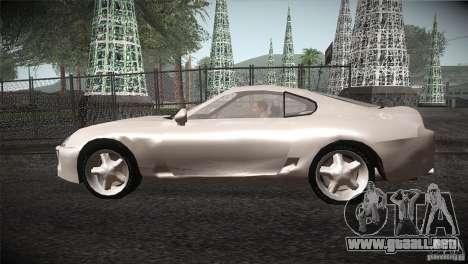 Toyota Supra para GTA San Andreas left