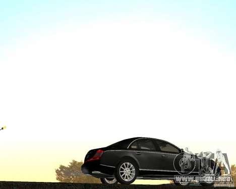 Maybach 57S para GTA San Andreas left