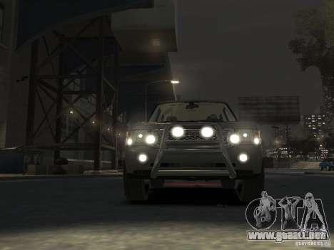 Range Rover Supercharged 2008 para GTA 4 vista lateral
