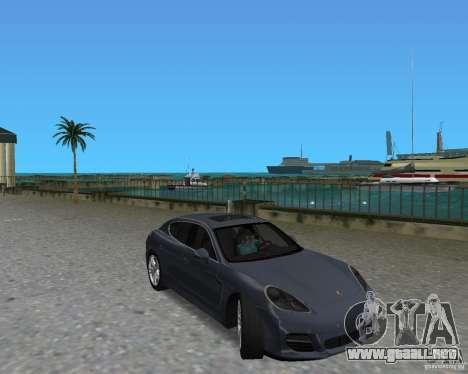 Porsche Panamera para GTA Vice City left