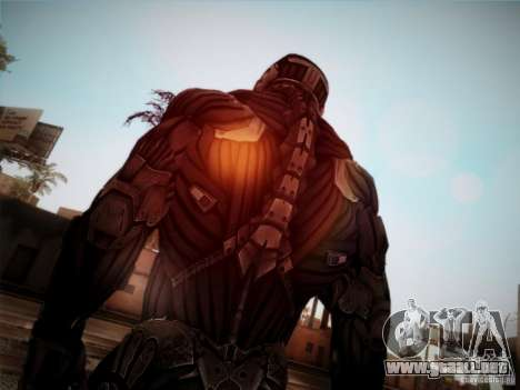 Crysis 2 Nano-Suit HD para GTA San Andreas tercera pantalla