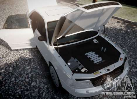 Audi A8 2000 para GTA 4 Vista posterior izquierda