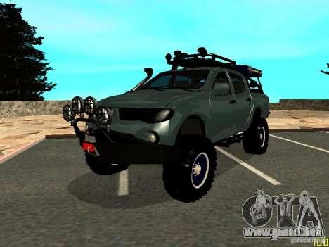 Mitsubishi L200 para GTA San Andreas