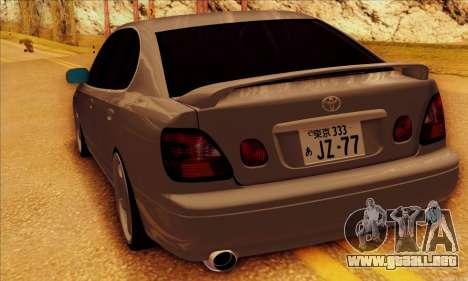 Toyota Aristo para visión interna GTA San Andreas