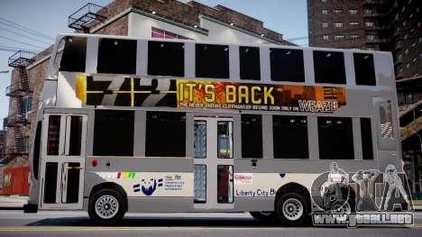 HKBUS Q SIZE para GTA 4 vista hacia atrás