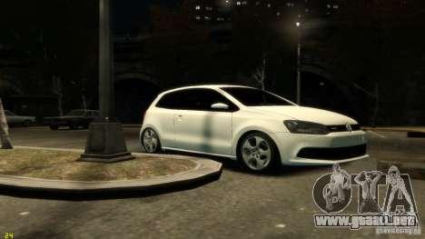 Volkswagen Polo v1.0 para GTA 4 left