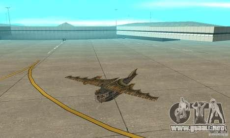 Muy lindo avión de TimeShift para GTA San Andreas left