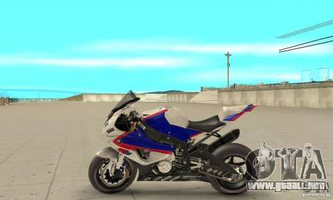 BMW S1000RR 2009 para GTA San Andreas left
