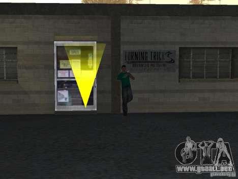 Realista conducción escuela v1.0 para GTA San Andreas