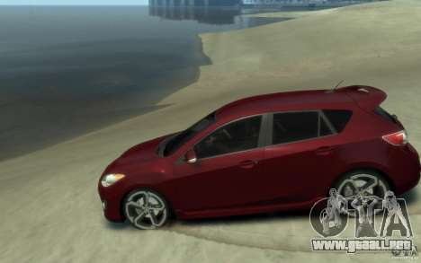 Mazda 3 MPS 2010 para GTA 4 left