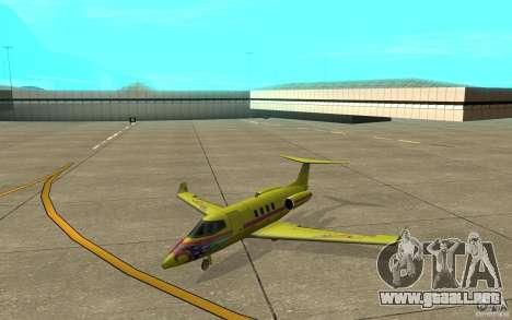 Shamal 1.0 Final para GTA San Andreas left