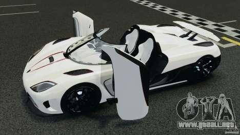 Koenigsegg Agera R v2.0 [EPM] para GTA 4 vista superior