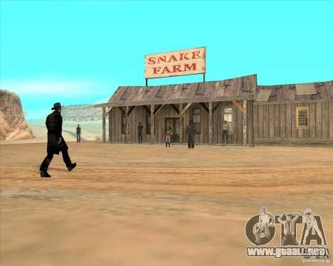 Vaquero duelo v2.0 para GTA San Andreas tercera pantalla
