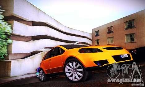 Suzuki SX4 Sportback Black 2011 para la visión correcta GTA San Andreas