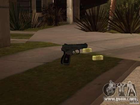 Pak versión doméstica armas 3 para GTA San Andreas sucesivamente de pantalla