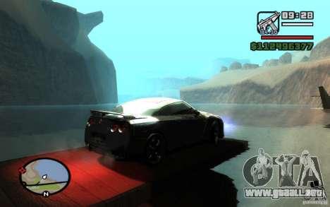 ENBSeries By Gasilovo para GTA San Andreas quinta pantalla
