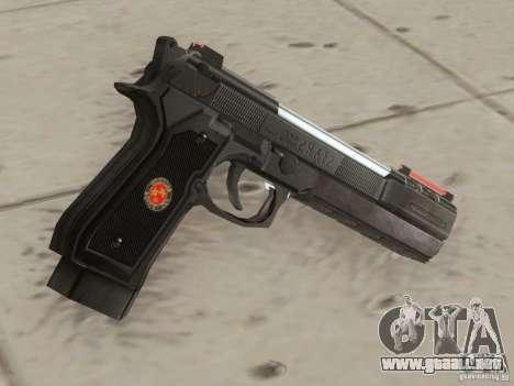 Desert Eagle para GTA San Andreas segunda pantalla