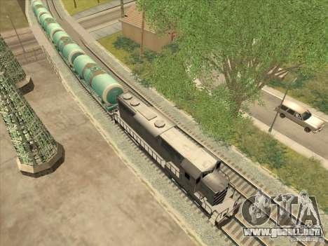 Tanque no. 517 94592 para GTA San Andreas left