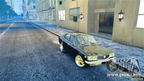Mazda RX3 para GTA 4 visión correcta