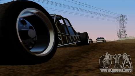 Tirón auto de Furious 6 para GTA San Andreas interior