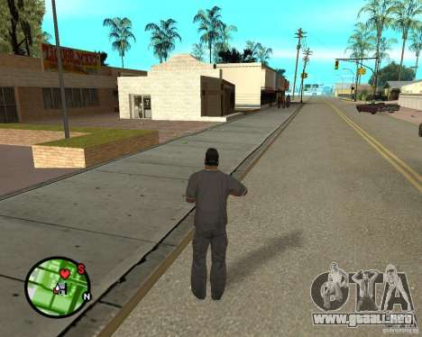Police On Radar para GTA San Andreas sucesivamente de pantalla
