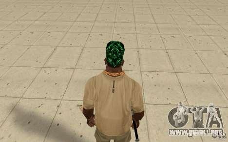 Matriz de pañuelos para GTA San Andreas tercera pantalla