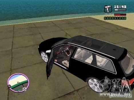 Audi A4 avant 3.2 QUATTRO para GTA Vice City left