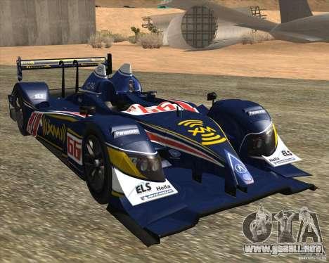 Acura ARX LMP1 para GTA San Andreas left