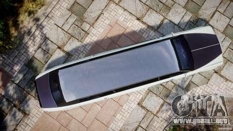 Rolls Royce Phantom Sapphire Limousine Disco para GTA 4 visión correcta