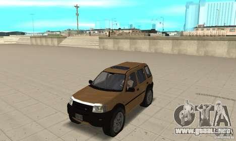 Land Rover Freelander KV6 para GTA San Andreas