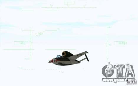 Henkel 162A Salamander para GTA San Andreas vista posterior izquierda