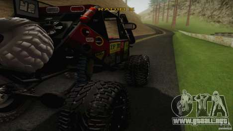 Buggy Off Road 4X4 para GTA San Andreas left