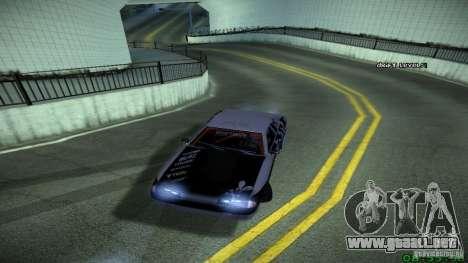 Elegy by LeM para GTA San Andreas vista posterior izquierda