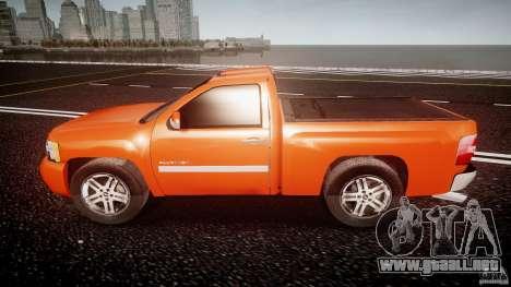 Chevrolet Silverado 2011 para GTA 4 left