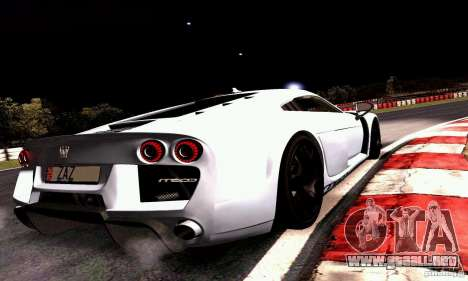 Noble M600 2010 V1.0 para GTA San Andreas left