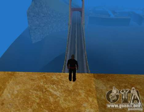 Golden Gate para GTA San Andreas tercera pantalla