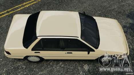 Mercury Tracer 1993 v1.1 para GTA 4 visión correcta