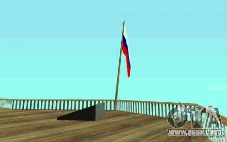 La bandera de Rusia en Chiliad para GTA San Andreas segunda pantalla