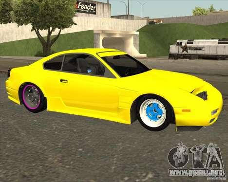 Nissan S330SX Japan SHK style para la visión correcta GTA San Andreas