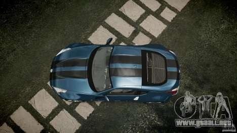 Nissan 370Z Coupe 2010 para GTA 4 visión correcta