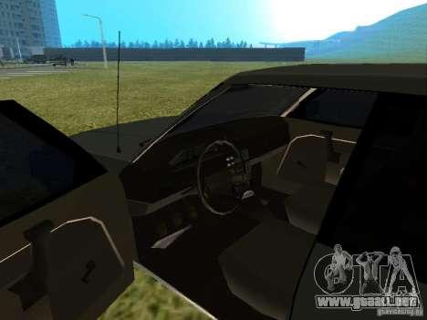 Moskvich 2141-Sviatogor 45 para GTA San Andreas vista hacia atrás