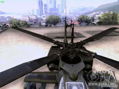HD Hunter para GTA San Andreas interior