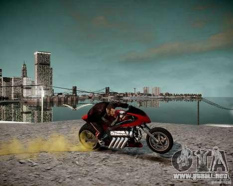 Drag Bike para GTA 4 visión correcta