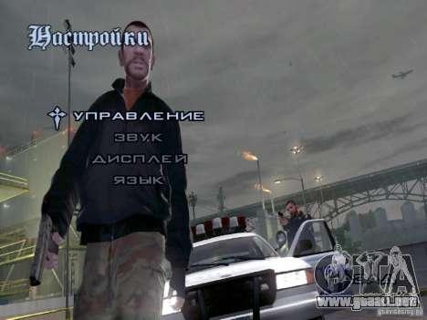 Menú como el de GTA IV para GTA San Andreas tercera pantalla