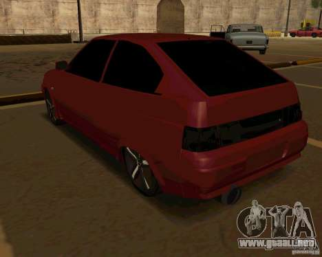 LADA 2112 Coupe v. 2 para la visión correcta GTA San Andreas