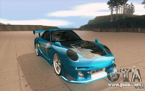 Mazda RX-7 911 Trust para GTA San Andreas vista hacia atrás
