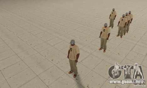 Hay un montón de CJ para GTA San Andreas segunda pantalla